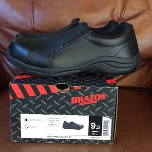 BRAZOS STEEL TOE SHOES